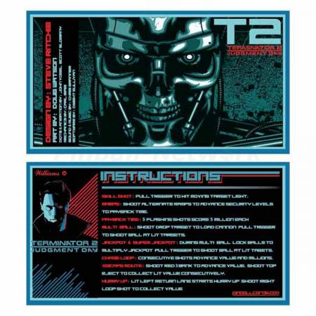 Terminator 2: Judgment Day Custom Cards, Design 2