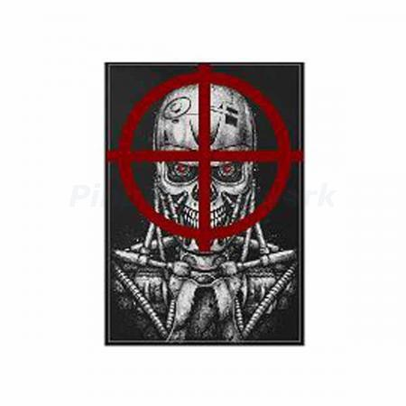 Terminator 2: Judgment Day Drop Target Decal