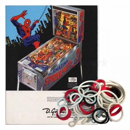 The Amazing Spiderman Gummisortiment