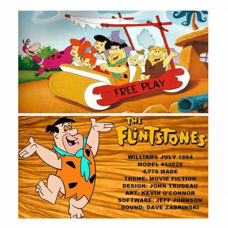 The Flintstones Custom Cards