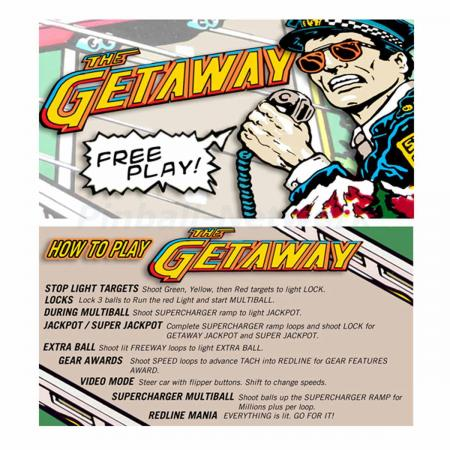 The Getaway Custom Cards, Design 1