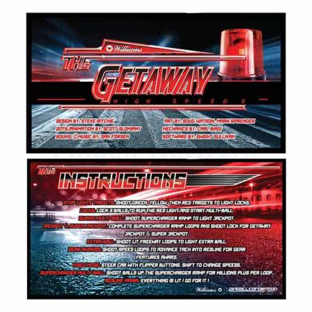 The Getaway Custom Cards, Design 2