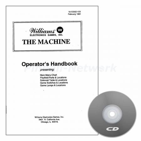 The Machine: Bride of Pinbot Operators Handbook