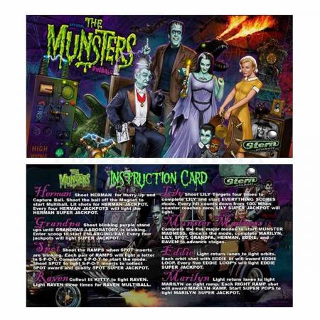The Munsters Custom Cards