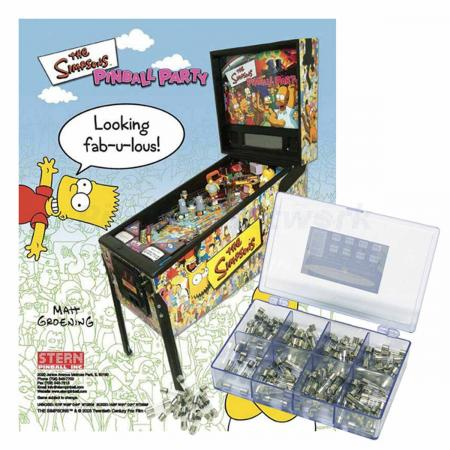 The Simpsons Pinball Party Sicherungssortiment