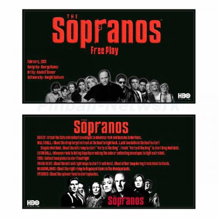 The Sopranos Custom Cards