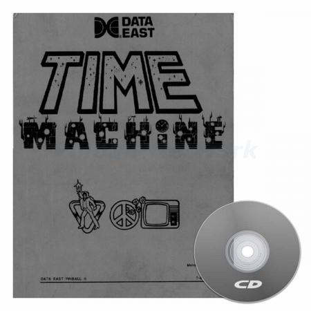 Time Machine Data East Operations Manual