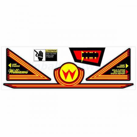Williams Apron Decals, Design 1