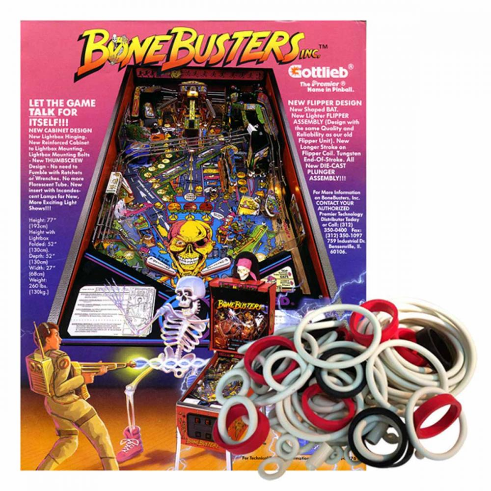 Bone Busters Inc. Gummisortiment