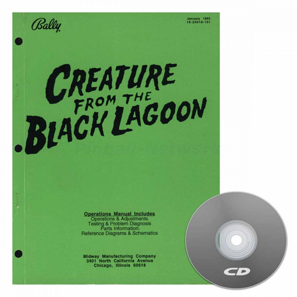 Creature From The Black Lagoon Operations Manual