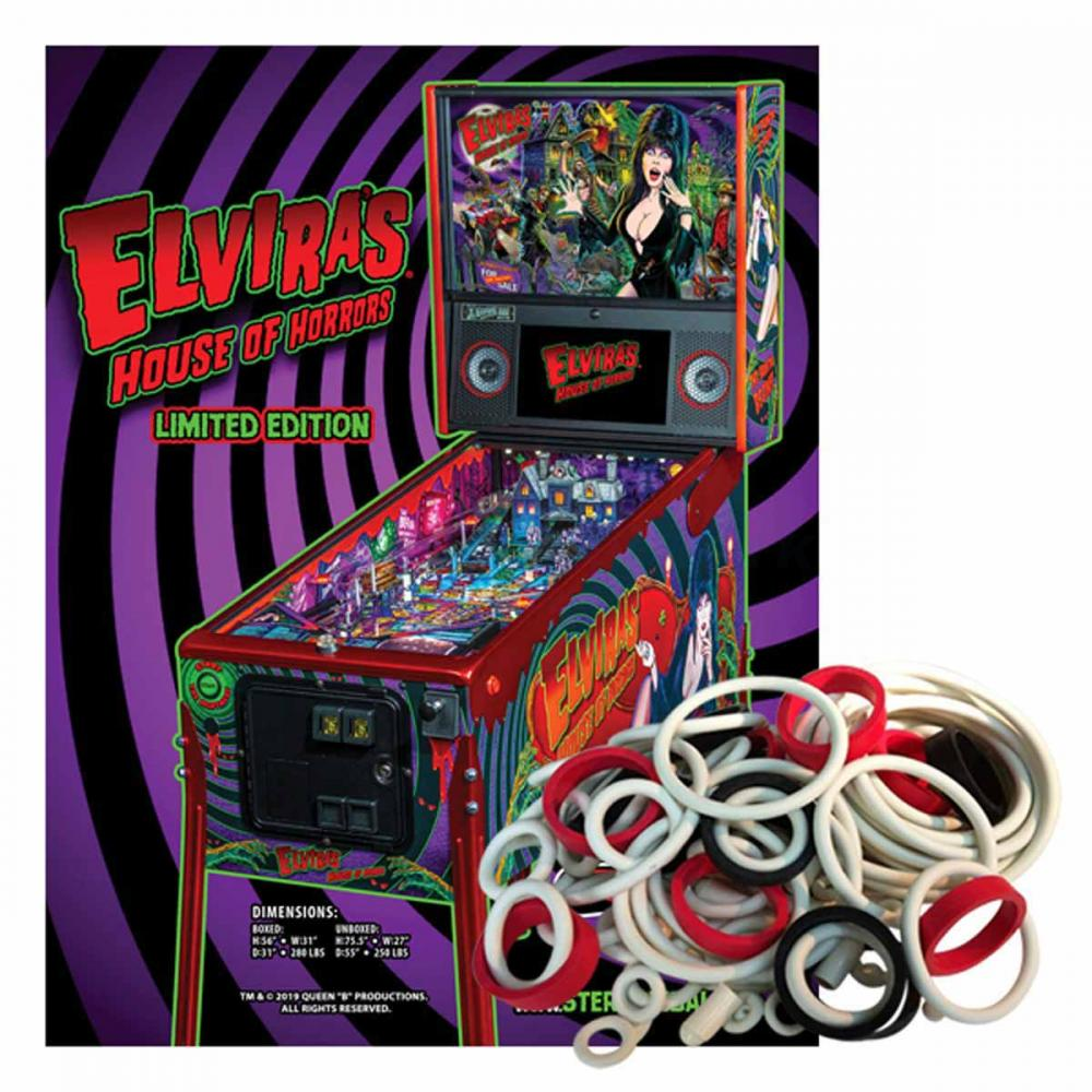 Elvira's House of Horrors Limited Edition Gummisortiment