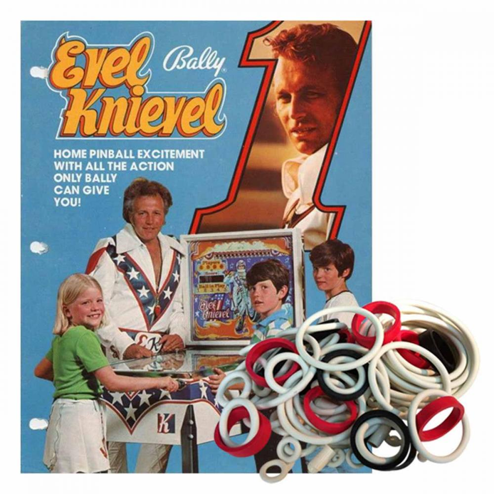 Evel Knievel Home Model Gummisortiment