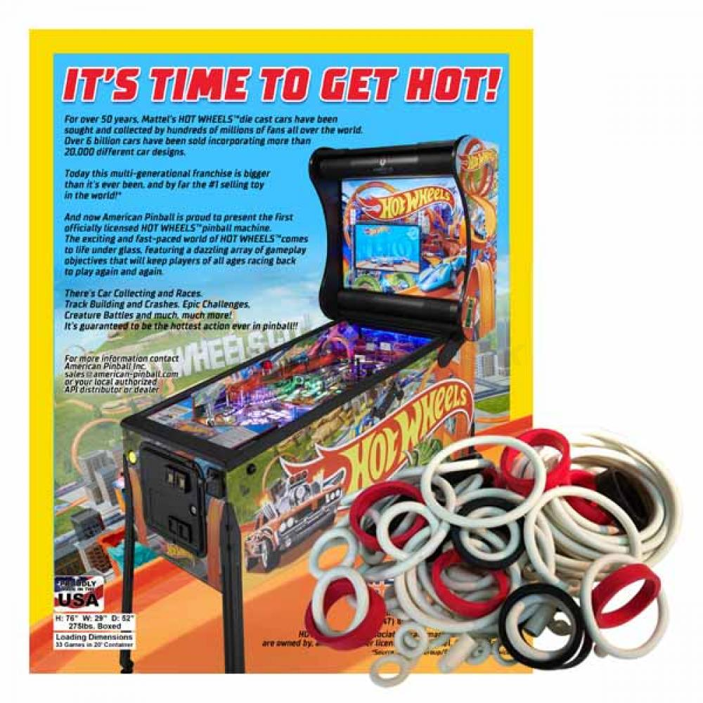 Hot Wheels American Pinball Gummisortiment