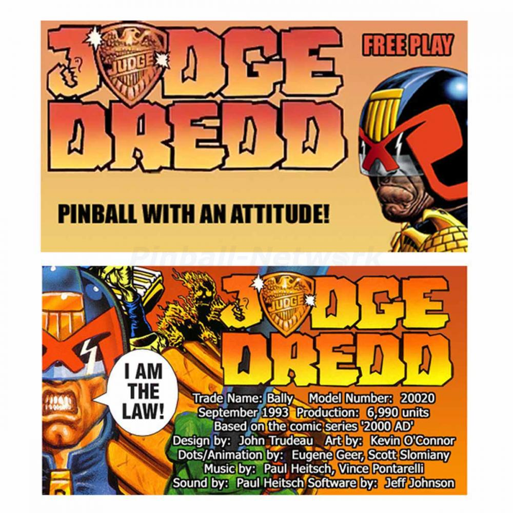 Judge Dredd Custom Cards