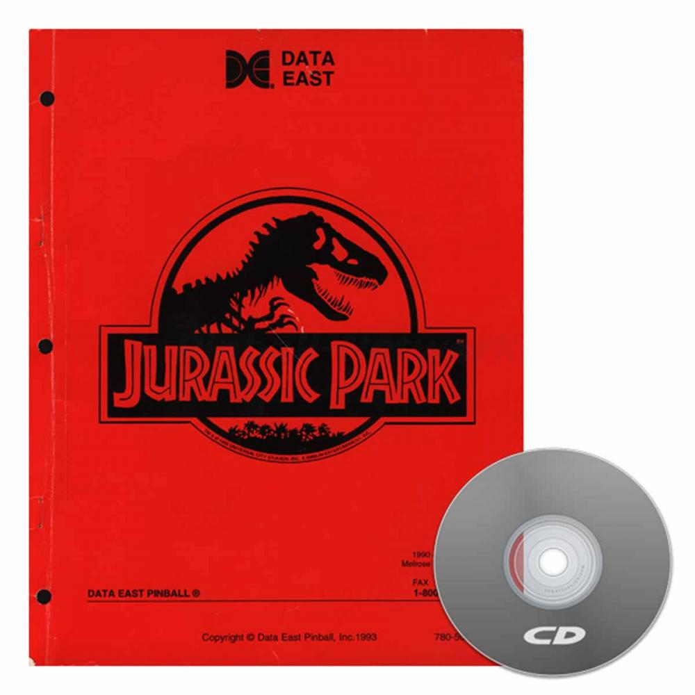 Jurassic Park Data East Operations Manual
