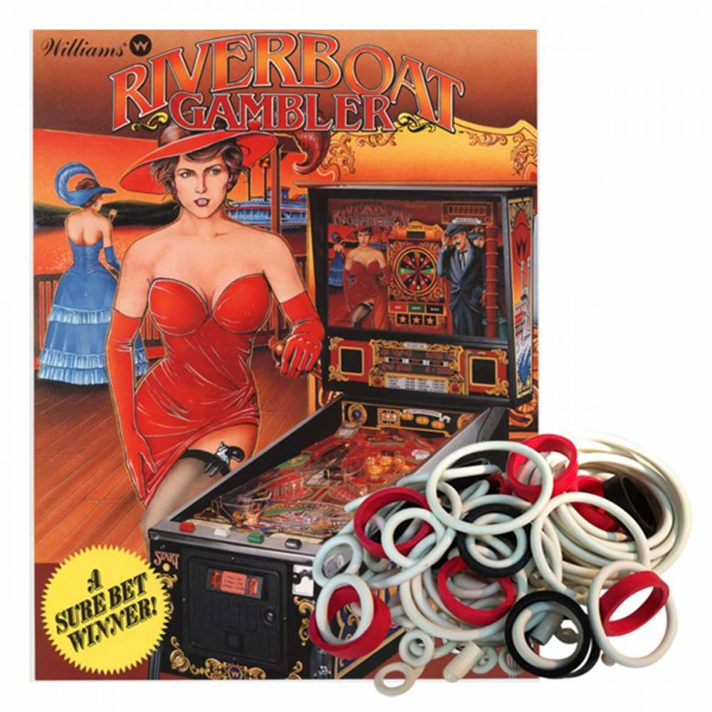 Riverboat Gambler Gummisortiment
