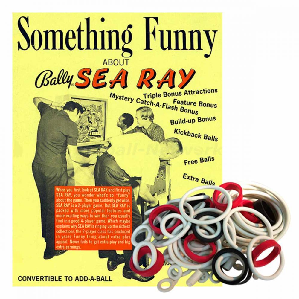 Sea Ray Gummisortiment