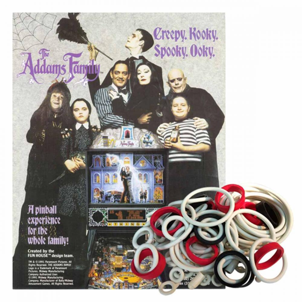 The Addams Family Gummisortiment