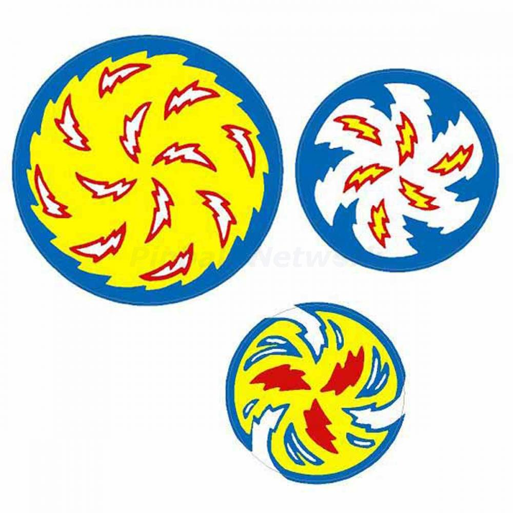 Whirlwind Spinning Disc Decals